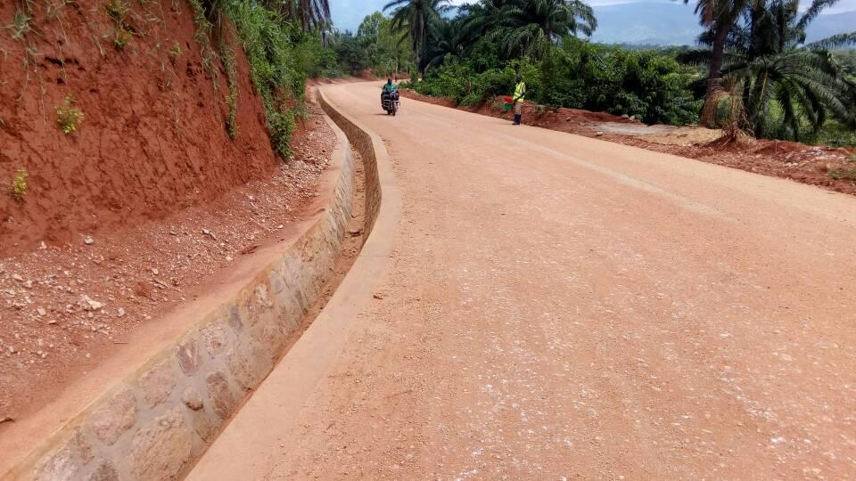 Route Kabonga Province Makamba